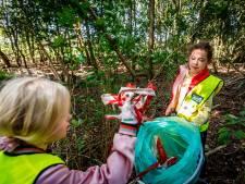 Wanneperveen vult zakken met zwerfafval op World Cleanup Day