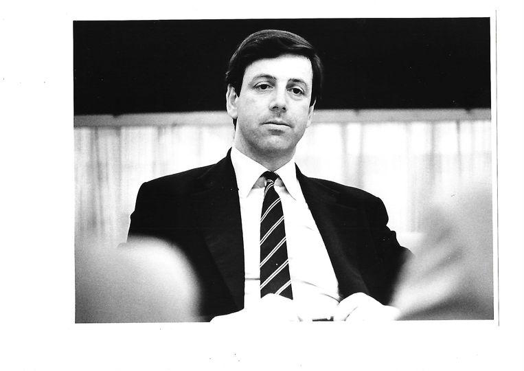 Marius Enthoven in 1986. Beeld Marius Enthoven