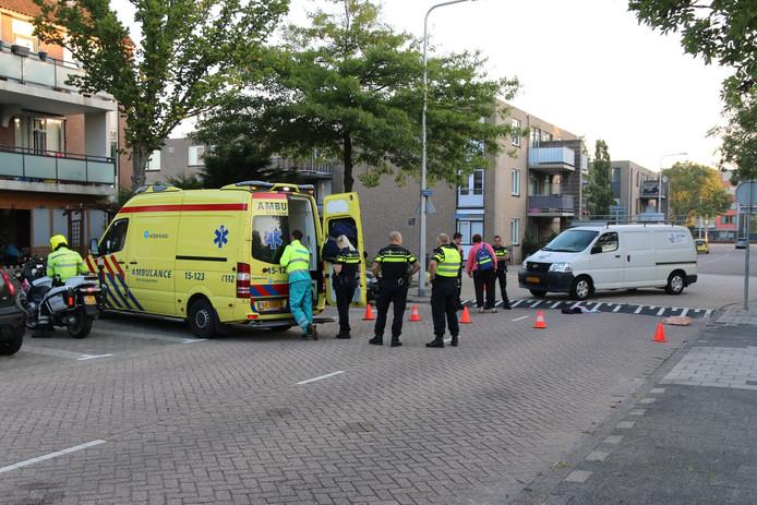 In de ochtend van 14 september heeft er op de Lange Spruit met de Windmolen in Wateringen een aanrijding plaatsgevonden tussen een busje en een voetganger.