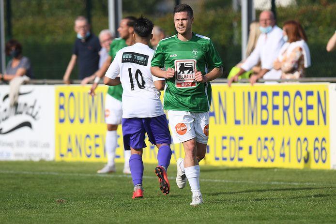 Gianni Scheerlinck en Lede spelen zondag hun derde wedstrijd in acht dagen.