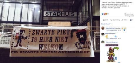 Apeldoorn beleeft eerste protest(je) voor behoud Zwarte Piet