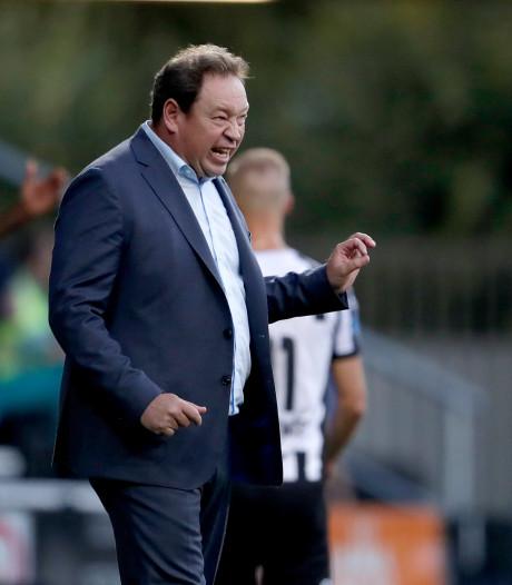 Sloetski ontevreden over voetbal Vitesse