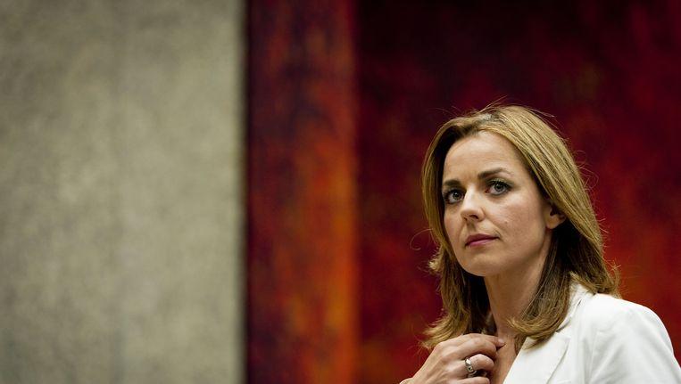 Marianne Thieme, fractievoorzitter van de PvdD in de Tweede Kamer Beeld ANP