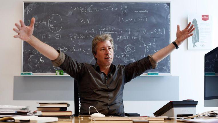 Erik Verlinde kreeg in 2011 de Spinozapremie, de hoogste wetenschapsonderscheiding in Nederland. Beeld Bob Bronshoff