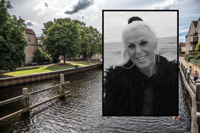 Carla Klompenmaker overleed op haar 70ste verjaardag. Ze kreeg een bijzondere uitvaart: over de grachten in Zwolle.