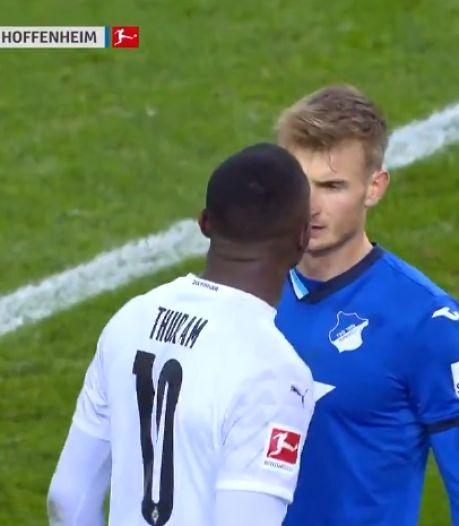 Marcus Thuram crache au visage de son adversaire et se fait exclure