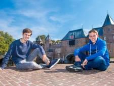 Luca (16) en Espen (17) tonen toverachtig Amersfoort in promotiefilm: 'Niet alleen historische plaatjes'
