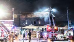 Brand in Restaurant Les Gitanes in Kerzelare: 20-tal klanten veilig naar buiten