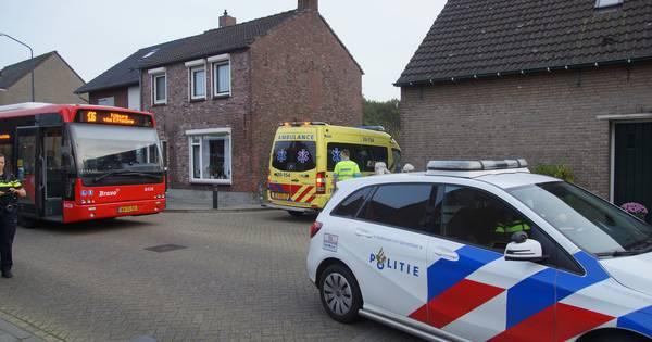 Fietsster gewond na botsing met lijnbus in Sprang-Capelle.
