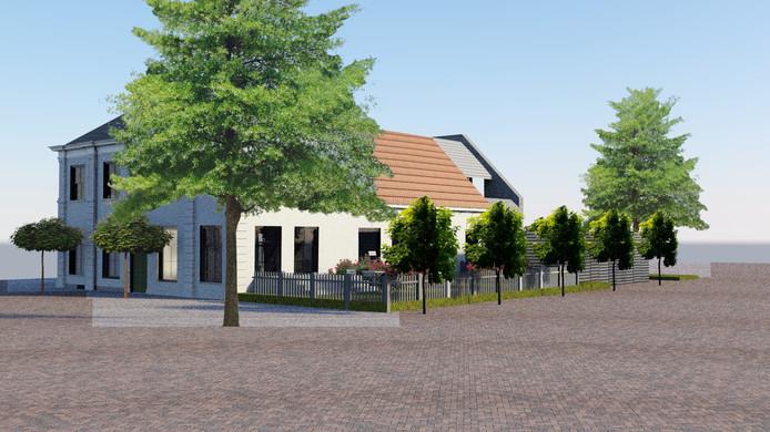 Een impressie van de Oudheidkamer in Wijhe na de verbouwing.