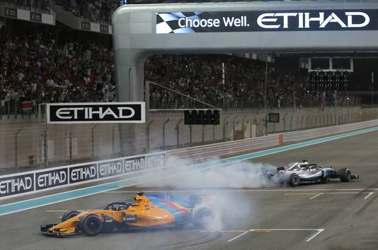 Lewis Hamilton en Fernando Alonso