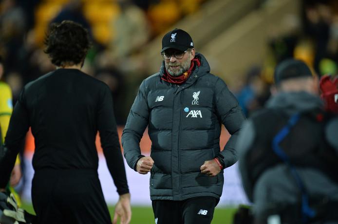 Trainer Jürgen Klopp van Liverpool.
