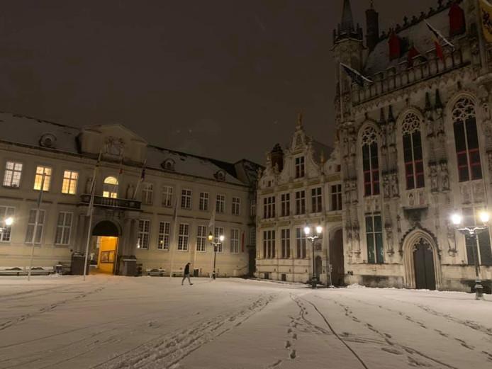 Sneeuw Brugge