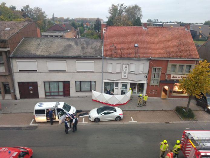 Er werd ook iemand onwel maar dit had niks met het ongeval te maken.