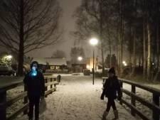 Zelfs dun laagje sneeuw zorgt voor prachtige witte beelden in Amersfoort en omgeving