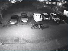 Brommerdiefstal in Vinkeveen op camera vastgelegd