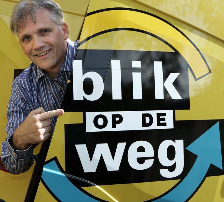 Blik op de Weg, van producent en voormalig presentator Leo de Haas. Het Avro-programma is al ruim 20 jaar op de buis. Beeld ANP