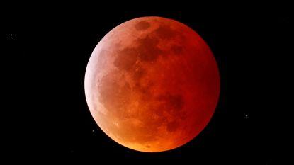 IN BEELD. Zo mooi is de totale maansverduistering (en je kan ze nog zien tot kwart voor negen)