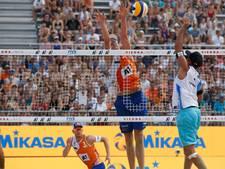 Brouwer/Meeuwsen winnen ook derde duel op EK beachvolley