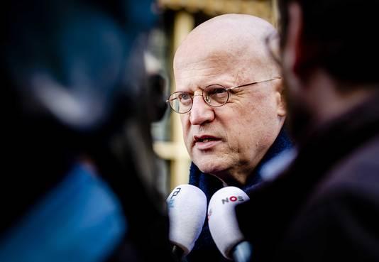 Ferdinand Grapperhaus, minister van Justitie en Veiligheid.