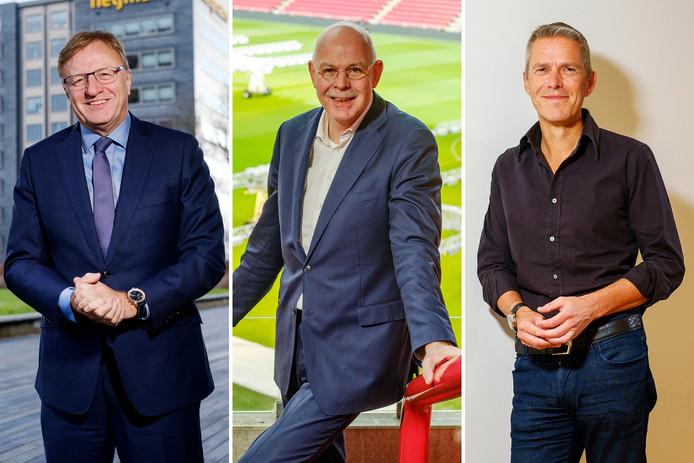 Topmannen Ton Hillen, Toon Gerbrands en Michiel Muller