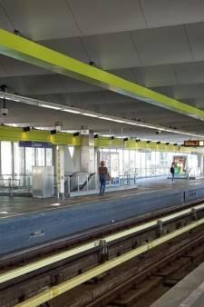 Metroverkeer langzaam op gang na rookincident Zuidplein