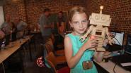 18 kinderen ronden succesvol techniekkamp af (met de creatie van een robot)