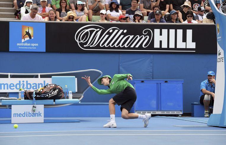 William Hill is hoofdsponsor van de Australian Open Beeld epa