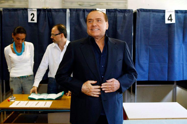 Silvio Berlusconi (Reuters) Beeld REUTERS