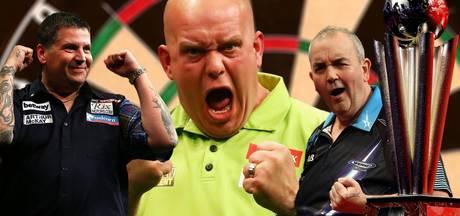 LIVE: Van Gerwen opent met 180 tegen Lewis