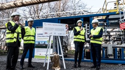 ArcelorMittal scheidt CO en CO2-uitstoot in strijd tegen klimaatopwarming