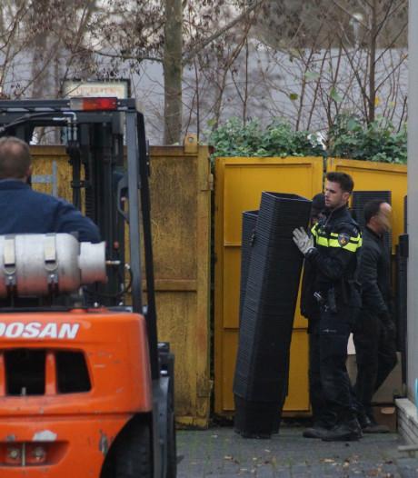 Spullen voor hennepkwekerij gevonden bij politie-inval in Kaatsheuvel