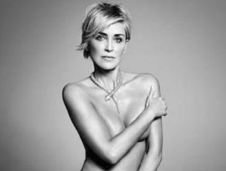 """Naakte Sharon Stone oogst bewondering: """"Maar mijn kont ziet er intussen als een pannenkoek uit"""""""