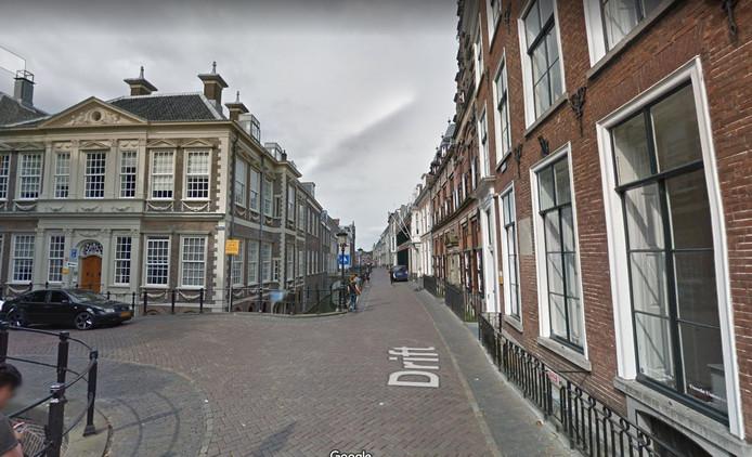 Aan de Drift in de binnenstad van Utrecht zitten diverse panden van de faculteit geesteswetenschappen van de Universiteit Utrecht