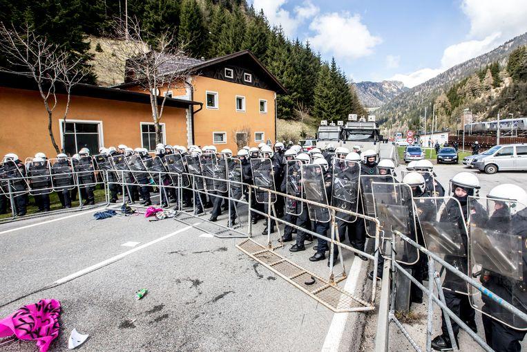 Al in april 2016 braken protesten uit tegen nieuwe grenscontroles aan de Brennerpas.