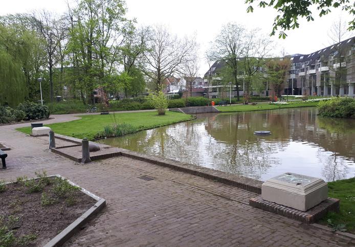Emile van Loonpark zonder beelden. Foto Alfred de Bruin
