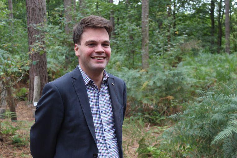 Burgemeester Pieter Claeys.