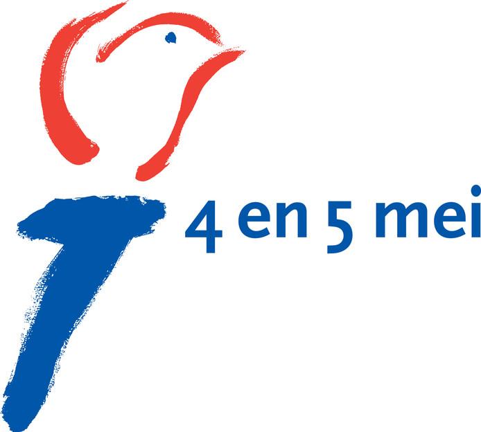De bekende fakkel van het Nationaal Comité 4 en 5 mei.
