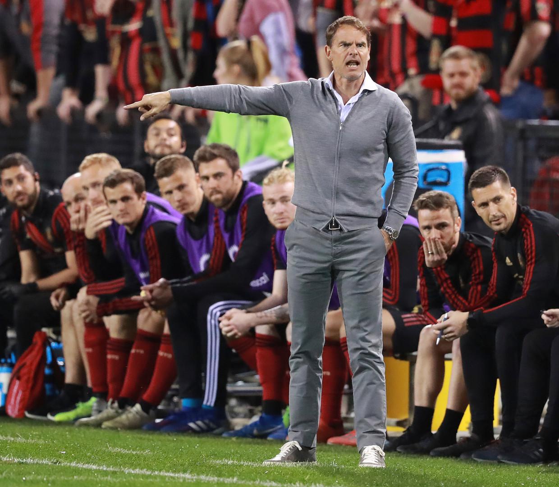 Atlanta United won onder Frank de Boer onlangs vijf wedstrijden op rij zonder tegengoal, een record in de Major League Soccer. Beeld AP