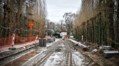 Werken parking Olympos naderen einde