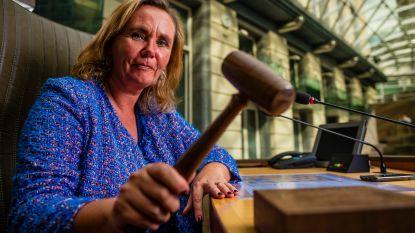 """Vlaams parlementsvoorzitter Liesbeth Homans (N-VA): """"Zal af en toe wat Dreft in mijn mond moeten gooien"""