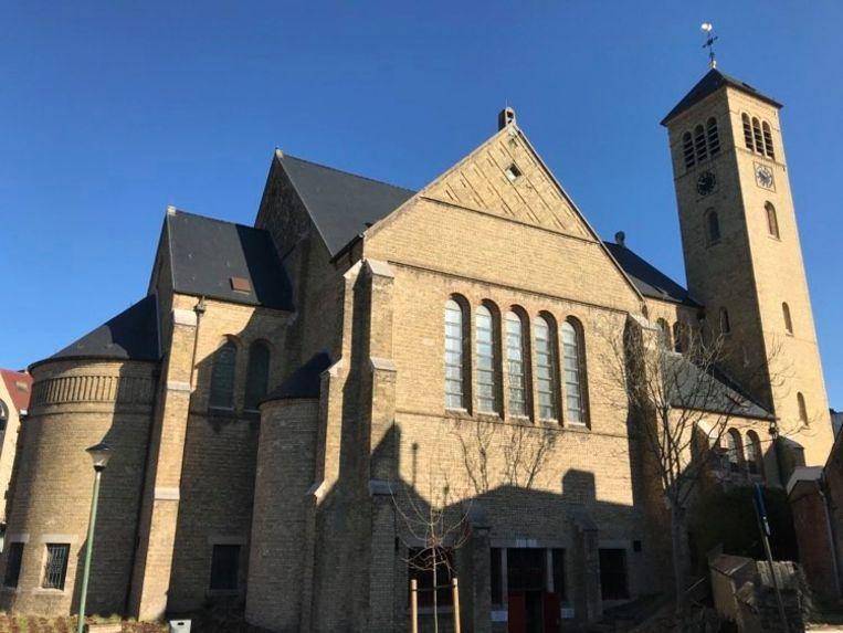 De OLV kerk in De Panne