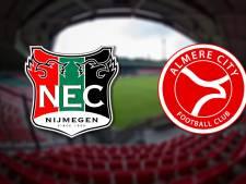 LIVE | NEC gaat voor derde zege op rij, thuis tegen Almere City