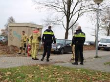 Stroomstoringen in Almelo na brand in transformatorhuisje