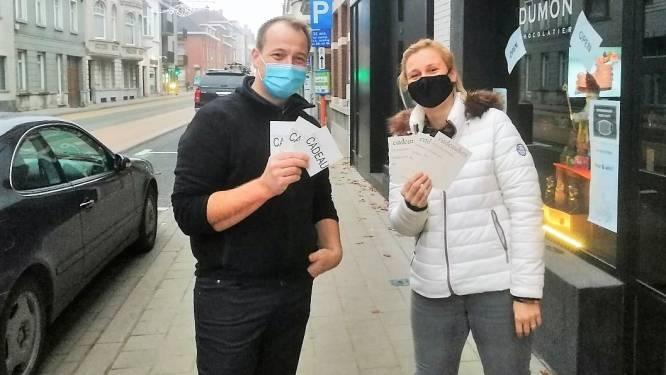 't Visserhuys en chocolatier Dumon houden loting met cadeaubonnen, om gesloten handelaars in Doorniksewijk te steunen