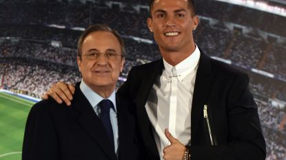 """Real-voorzitter vertelt waarom hij Ronaldo liet vertrekken: """"Niemand gaf Madrid meer dan 100 miljoen euro"""""""