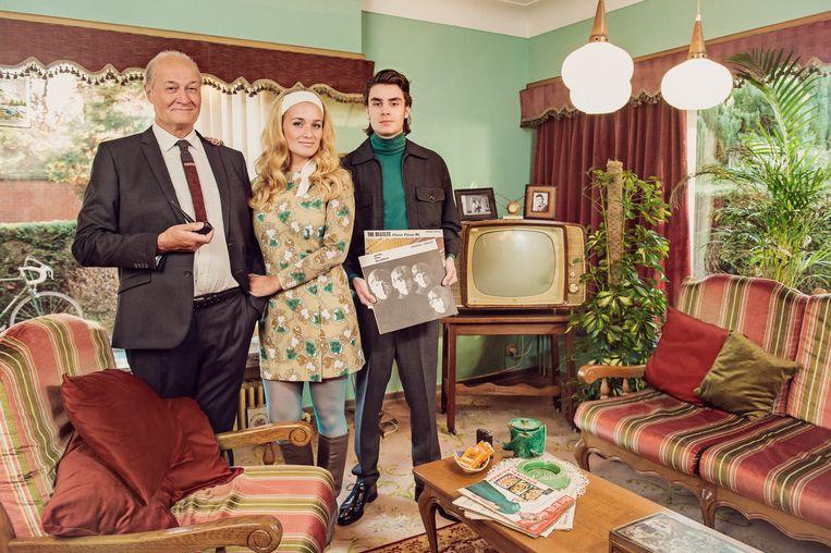 Groeten Uit ; seizoen 2 , aflevering 2 op dinsdag 6 februari 2018 bij VTM. In deze aflevering: Groeten uit 1963 met Jacques Vermeire.