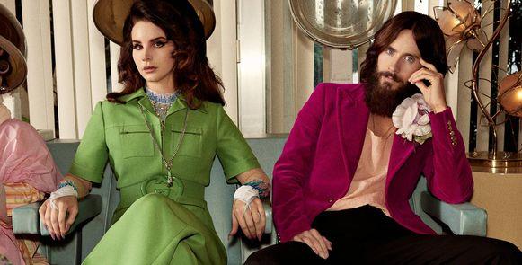 Lana Del Rey en Jared Leto