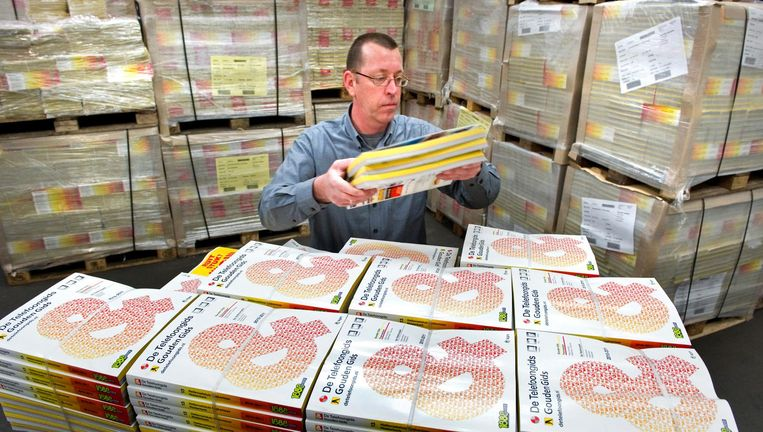 Archieffoto: distributie van telefoongidsen Beeld anp