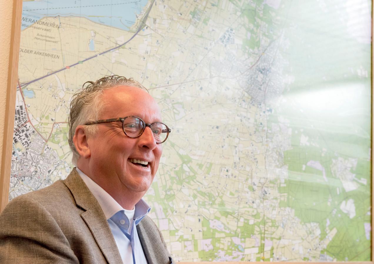 Gerben Priem, zorgwethouder van de gemeente Putten.